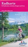Radkarte - 60 Radrouten zwischen Bergen und Seen / EuRegio