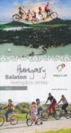 Freizeitkarte - Balaton Map mit Radtouren (Ungarn)