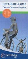 Bett+Bike Karte zwischen Ostsee und Erzgebirge