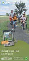Raderlebnisroute Biber-Burgen-Tour an der Elbe