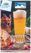 Brauerei-Karte Chiemgau - Berchtesgadener Land
