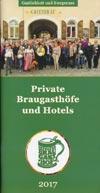 Private Braugasthöfe und Hotels 2017