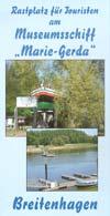 Museumsschiff Marie-Gerda Breitenhagen an der Elbe