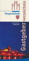 Gastgeberverzeichnis Kaiser- und Hansestadt Tangermünde