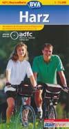 ADFC-Regionalkarte Harz Ma�stab 1:75.000, BVA