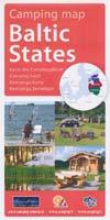 Campingkarte - Camping map Baltic States