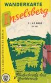 DDR-Wanderkarte Inselsberg M 1:40.000