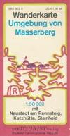 DDR Wanderkarte Umgebung von Masserberg, M 1:50.000