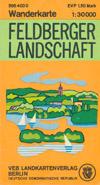 Wanderkarte Feldberger Landschaft M 1:30.000 (1974)
