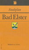 Stadtplan Bad Elster Maßstab 1:10.000 DDR, 1987