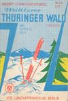 DDR Wander- und Wintersportkarte Mittlerer Thüringer Wald mit Gotha u. Suhl, M 1:50.000 (ca. 1965)