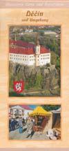 Decin und Umgebung - Illustrierte Karte und Reiseführer