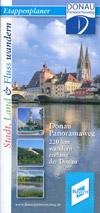 Donau-Panoramaweg Etappenplaner 220 km wandern entlang der Donau