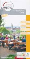 Erlebnisf�hrer Bamberg 2012 mit Stadtplan