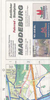 Fahrrad-Stadtplan Magdeburg M. 1:20.000