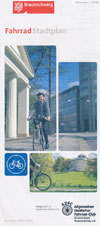 Fahrrad Stadtplan Braunschweig  Maßstab 1:20.000