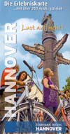 Erlebniskarte Region Hannover mit über 250 Ausflugszielen
