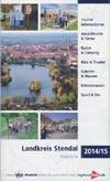 Freizeitkarte Landkreis Stendal 2014/15