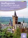 Ausflugsziele in Sachsen-Anhalt - große Übersichtskarte mit Radwegen