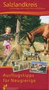 Freizeitkarte Salzlandkreis - Unterwegs zwischen Harz und Elbaue