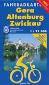 Fahrradkarte Gera - Altenburg - Zwickau 1:75.000, Grünes Herz