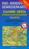 Rad- und Wanderkarte + Gew�sserkarte Dahme-Seen
