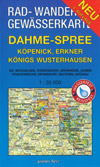 Rad- und Wanderkarte + Gew�sserkarte Dahme-Spree