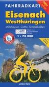 Fahrradkarte Eisenach - Westthüringen 1:75.000