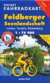 Pocket Fahrradkarte Feldberger Seenlandschaft, Lychen, Templin, Fürstenberg M 1:75.000