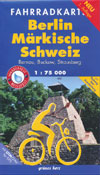 Rad- und Wanderkarte + Gewässerkarte Naturpark Märkische Schweiz