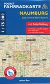 Pocket Fahrradkarte Naumburg: Saale-Unstrut-Elster-Radacht (M 1:75.000)