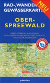 Rad- und Wanderkarte + Gewässerkarte Oberspreewald