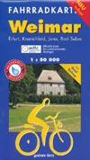 Fahrradkarte Weimar 1:50.000