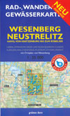 Rad- und Wanderkarte + Gewässerkarte Wesenberg Neustrelitz