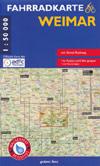Fahrradkarte Weimar 1:50.000, 2. Auflage 2020