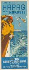 Mit der HAPAG an die Nordsee - Seebäderdienst Hamburg (1931)