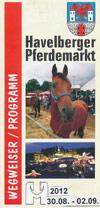 Havelberger Pferdemarkt Wegweiser/Programm