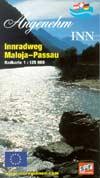 Innradweg Maloja-Passau, Radkarte Maßstab 1:125.000