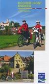 Kocher-Jagst-Radweg Radkarte M 1:130.000