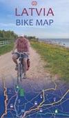 Latvia Bike Map - Fahrradkarte
