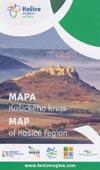 Touristenkarte Region Kosice - Mapa Kosickeho Kraja - Map of Kosice region
