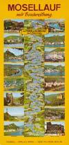 Mosellauf mit Beschreibung von Trier bis Koblenz und Saartal