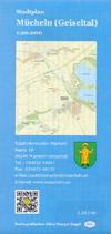 Stadtplan Mücheln (Geiseltal) Maßstab 1:20.000