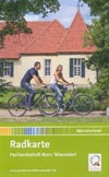 Radkarte Parklandschaft Kreis Warendorf, Münsterland