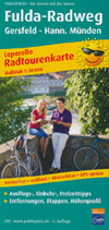 Radwanderkarte Fulda-Radweg, Publicpress