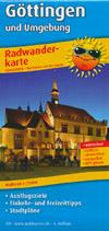 Radwanderkarte Göttingen und Umgebung M 1:100.000, Publicpress