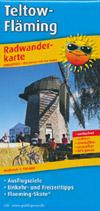 Radwanderkarte Teltow-Fläming M 1:100.000, Publicpress
