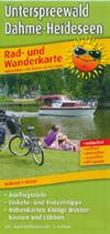 Radwanderkarte Unterspreewald, Dahme-Heideseen, M 1:50.000, Publicpress