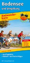 Radwanderkarte Bodensee und Umgebung, Publicpress