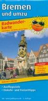 Radwanderkarte Bremen und umzu, Publicpress